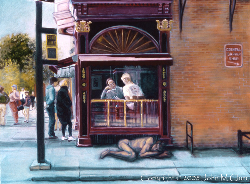 http://fineartamerica.com/featured/afternoon-on-ithaca-commons-john-clum.html Nov 18, 2008 John M Clum Afternoon on The Commons - Oil on Canvas - Ithaca, New York