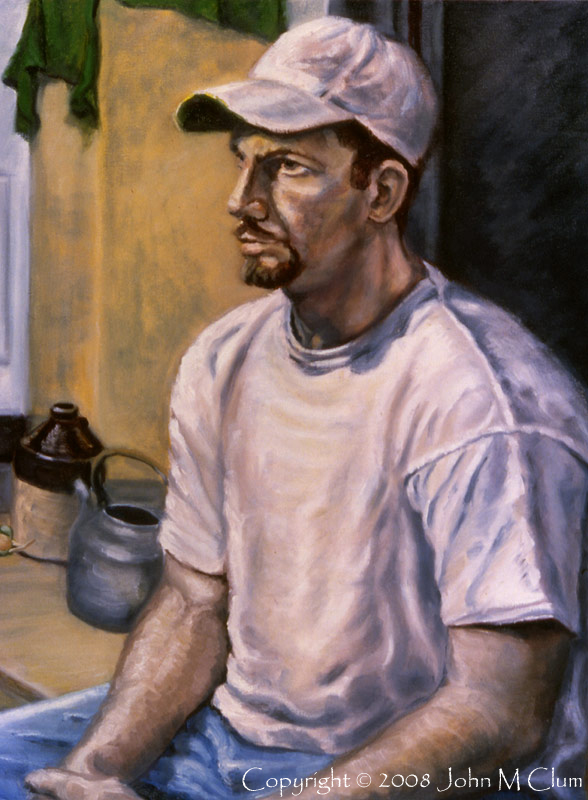 http://fineartamerica.com/featured/portrait-mark-john-clum.html Nov 18, 2008 John M Clum Mark - Oil on Canvas