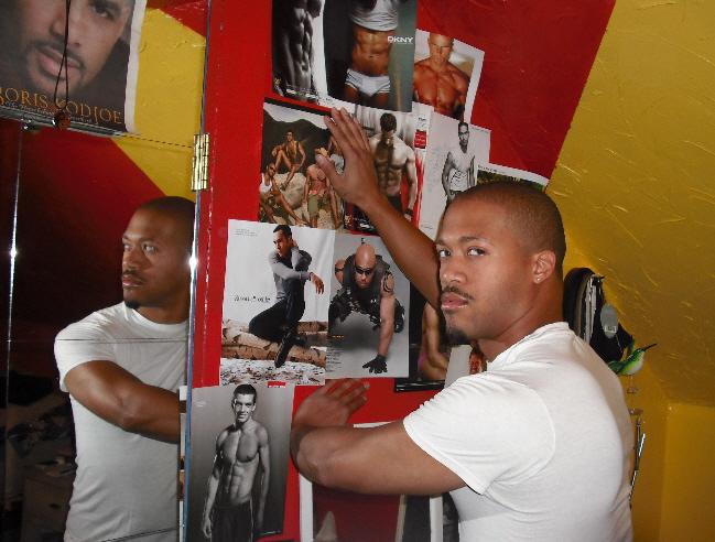 Male model photo shoot of Andre Emmanuel