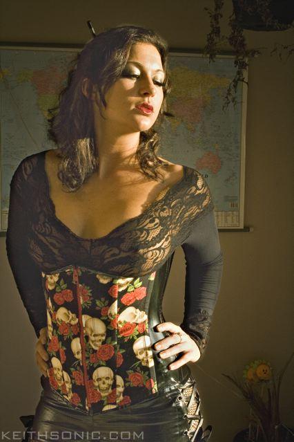 Female model photo shoot of JJCro by KeithSonic