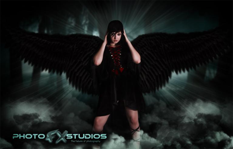 Female model photo shoot of Jenna Monnster by Photo FX Studios