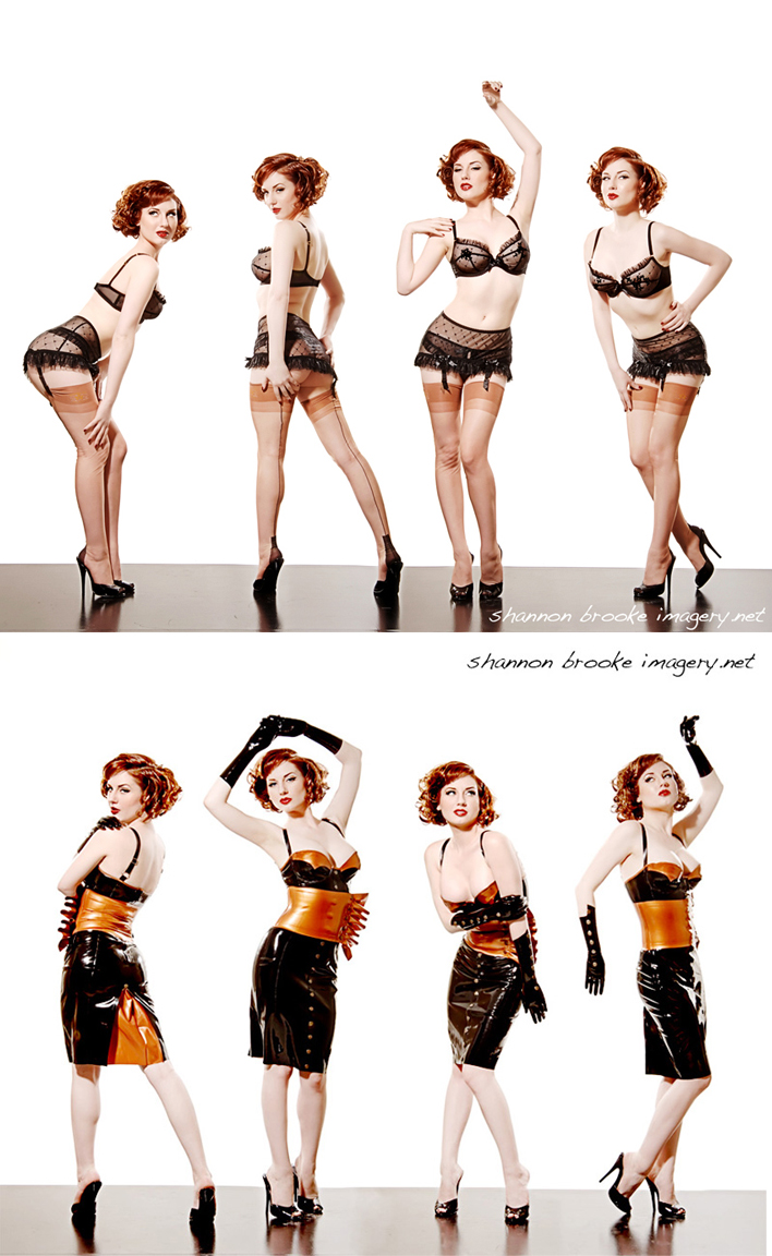 LA Nov 21, 2008 Shannon Brooke MUAH: Jennifer Corona, latex: Vex, lingerie: Agent Provocateur