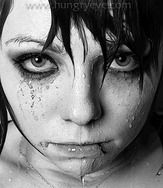 Calgary, Alberta Nov 23, 2008 2008 - Bradford Pettigrew - The Hungry Eye Wet = Lizzy Misery