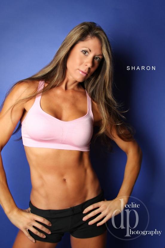 Atlanta Nov 23, 2008 Sharon Coleman and DeeLite Photography Girl Next Door (Forties and Beautiful) Fitness Poster