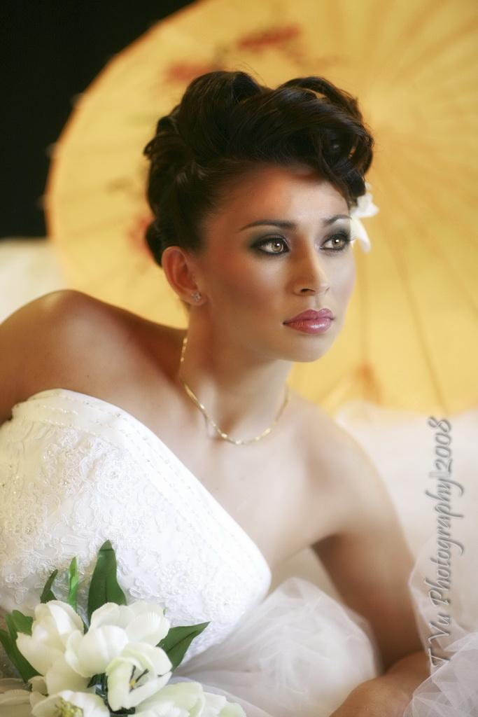 Female model photo shoot of lindangomakeup in studio, makeup by lindangomakeup