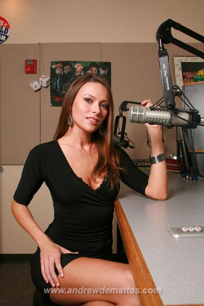104.1 The Edge Studios, Albuquerque, NM Nov 24, 2008 Andrew DeMattos Miss Buck and Dex contest