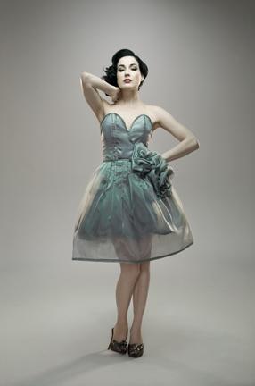 Nov 24, 2008 Venus Editorial. Dita Von Tesse. Dress: GLAZA
