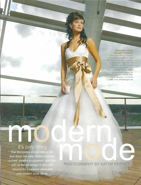 Vow magazine Nov 24, 2008 photo by Kathy Keeney