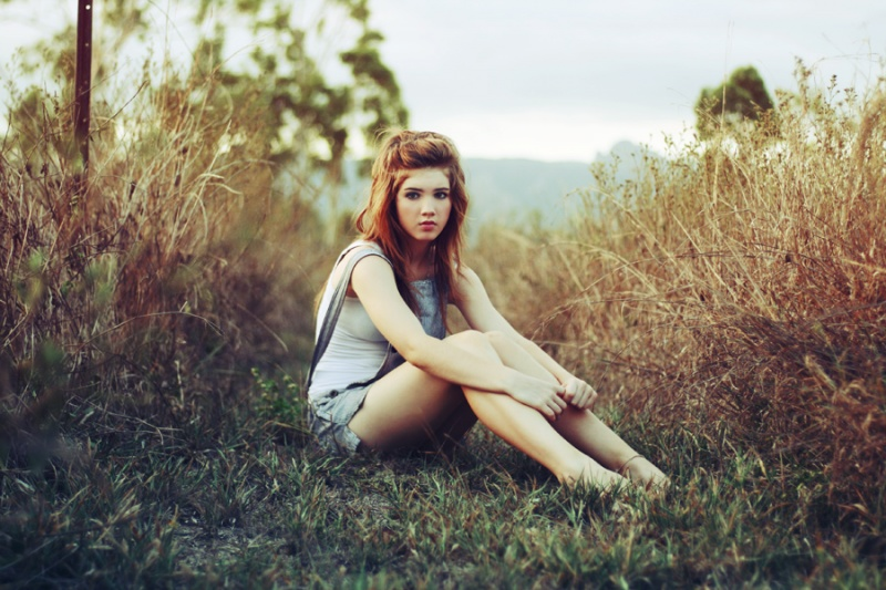 Female model photo shoot of NIRRIMI