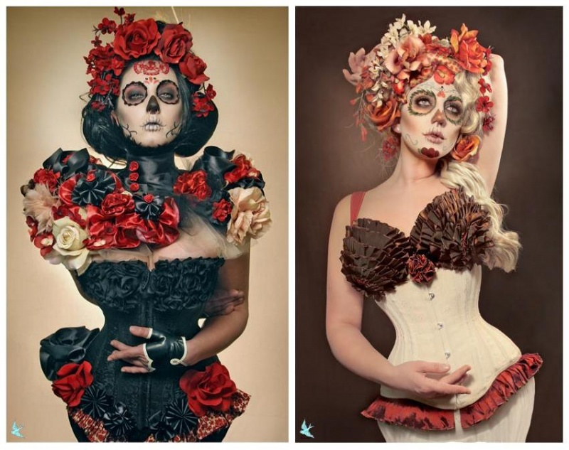Nov 26, 2008 Dia de los Muertos series!  Model/MUA: Me; Hair/Costume/Photo: Gayla!