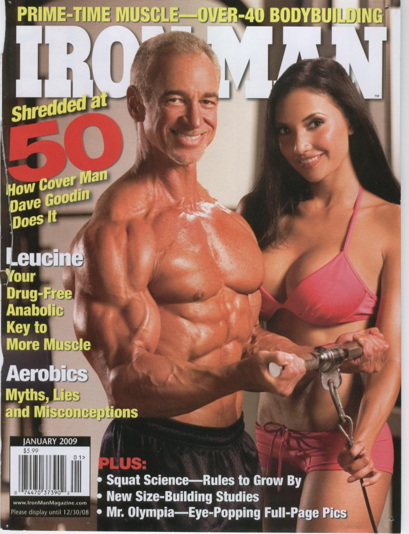 LA Nov 26, 2008 Ironman Magazine   Michael Neveux Photo January 09 Issue  on newstands now