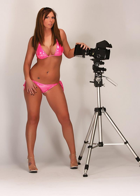 Dreamphoto Studio Charlotte Nov 27, 2008 Dreamphoto Erin in her Pink Bikini