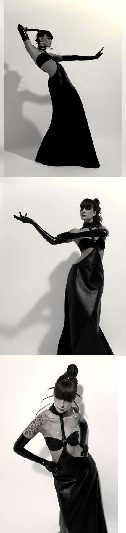 LEON Studio Nov 29, 2008 LEON Photography Model: Sharon TK, Styling by: LEON, top & head piece by; HARDWEAR by LEON