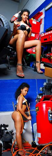 Female model photo shoot of La Reyna  by MarQuest Edwards
