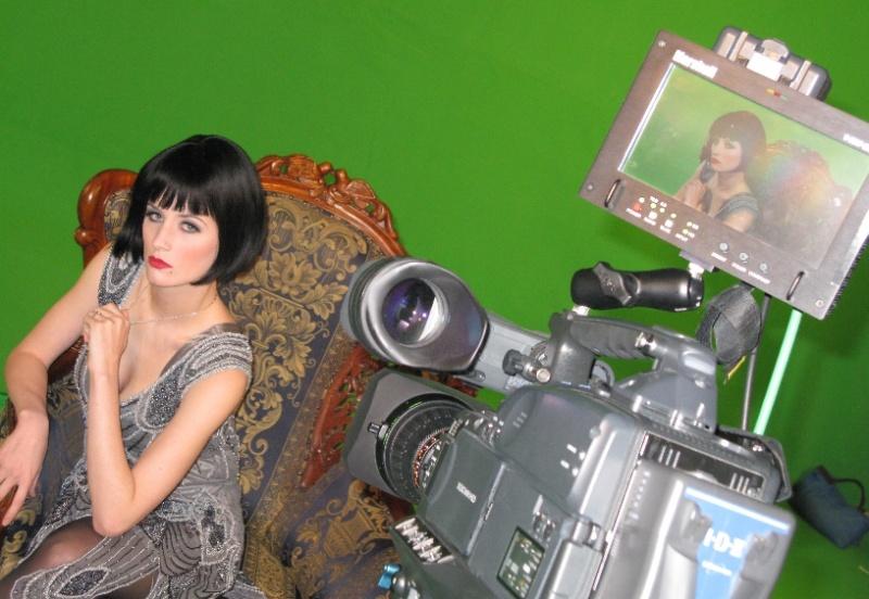 Female model photo shoot of Crystal Chapson in Star Studio