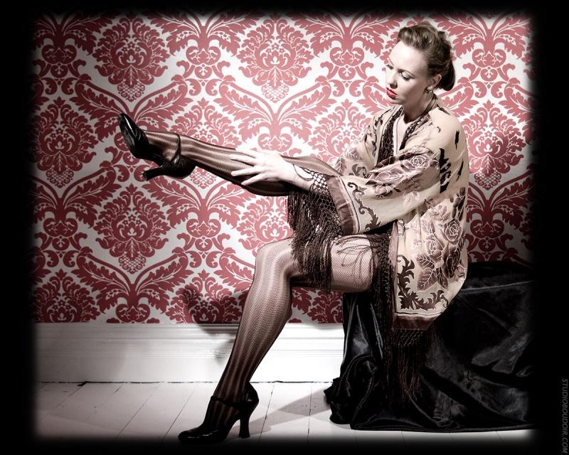 Dec 01, 2008 J. Belander vintage style photo shoot (2) by silvercanvas
