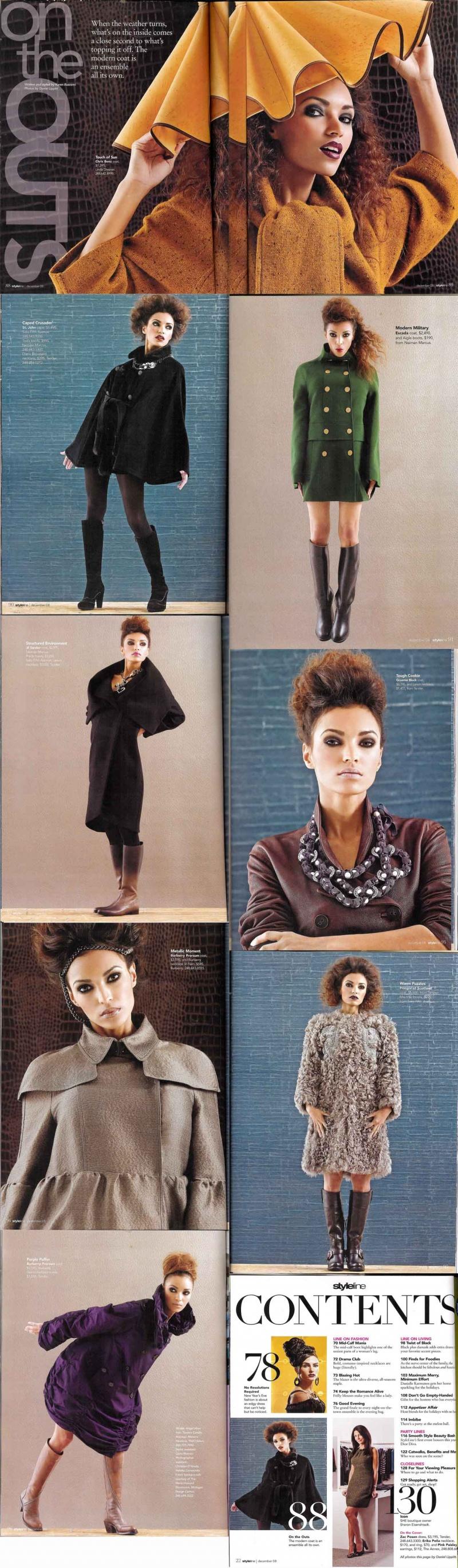 Dec 01, 2008 Dan Lippitt Styeline Magazine Layout Dec 2008