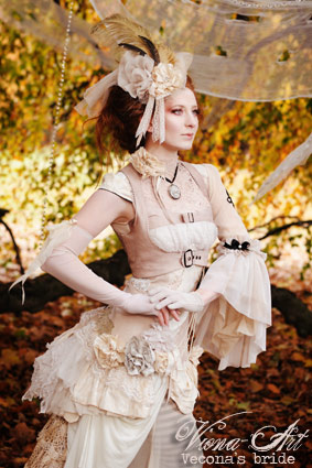 Dec 01, 2008 Steampunk Bride