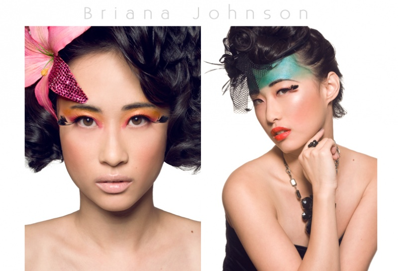 Female model photo shoot of TillyY by Bri Johnson Photography in Studio, hair styled by LaWanda Pierre, wardrobe styled by Aynoucka, makeup by Shannon Loyola
