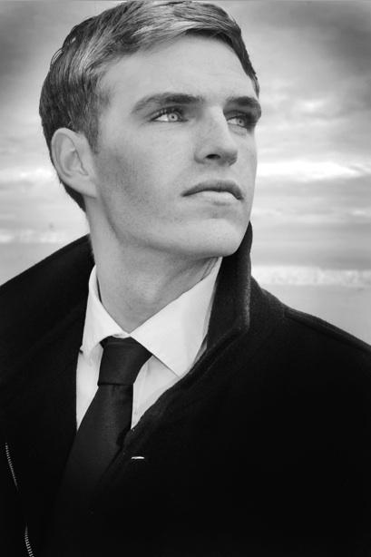 West Kirby, UK Dec 02, 2008 Model is Dean Wilson