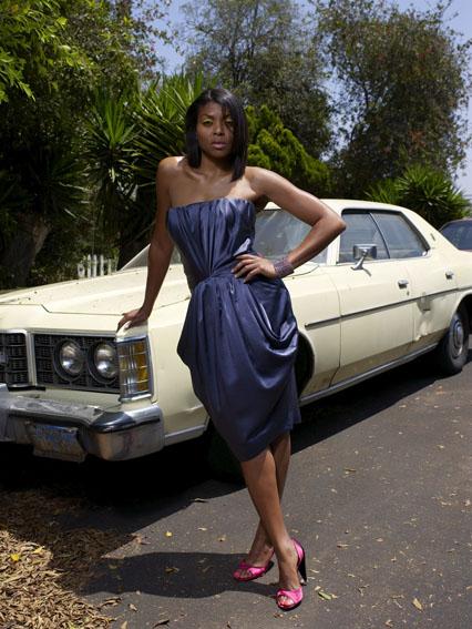 Female model photo shoot of CC Moten in Los Angeles