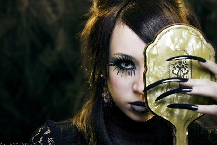 :D Dec 03, 2008 Krystal layton (hair and makeup by me) mirror mirror...