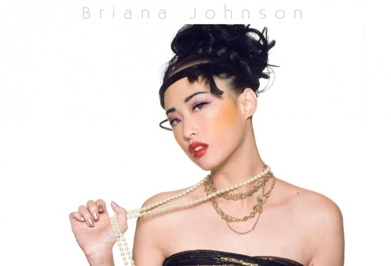 Female model photo shoot of TillyY by Bri Johnson Photography in Studio, hair styled by LaWanda Pierre, wardrobe styled by Aynoucka, makeup by Shannon Loyola