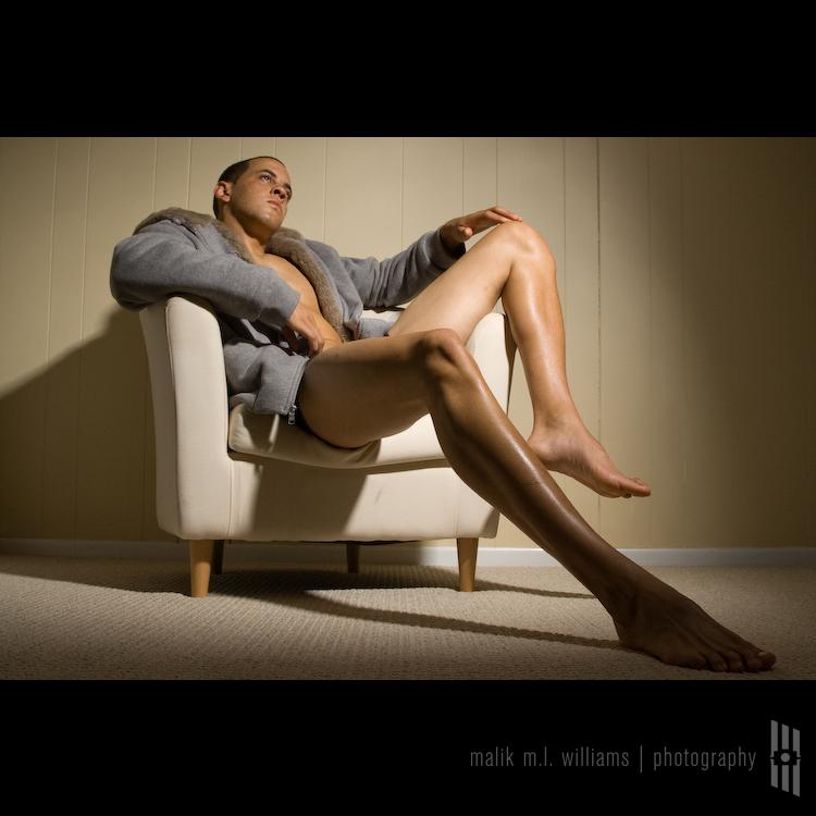 Male model photo shoot of malik m.l. williams and Chris Walker in 667 Studio