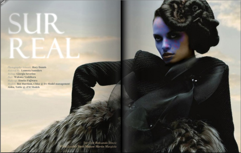London Dec 05, 2008 Giorgia Severino chic today magazine