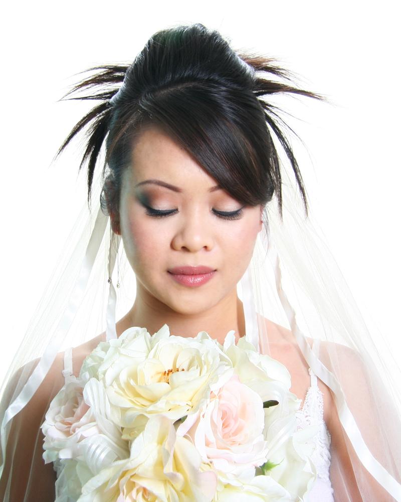 Female model photo shoot of Tammy Do, makeup by Tammy Do