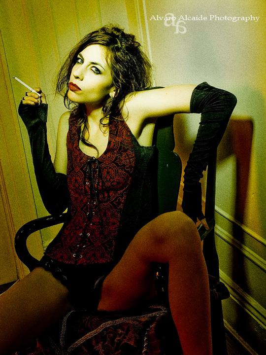 Female model photo shoot of Amber Star by Jack the Calico in NY, NY