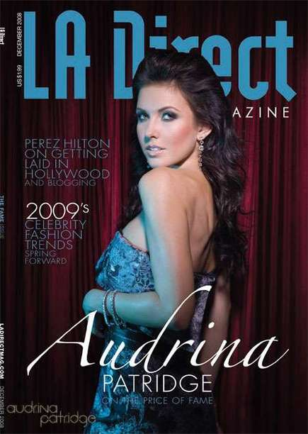 Hollywood Dec 06, 2008 photo: Lionel Deluy Audrina Patridge for LA DIRECT