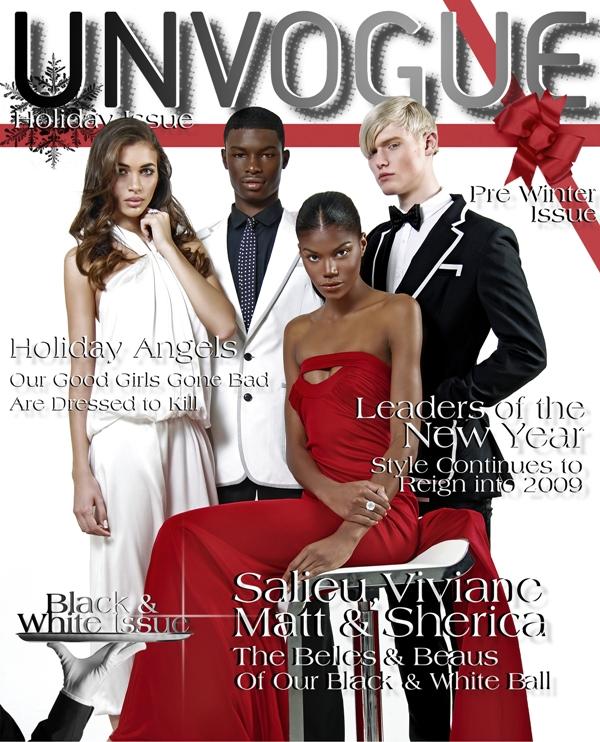 DEX NY Studio Dec 06, 2008 UNVOGUE Magazine The Black & White Issue