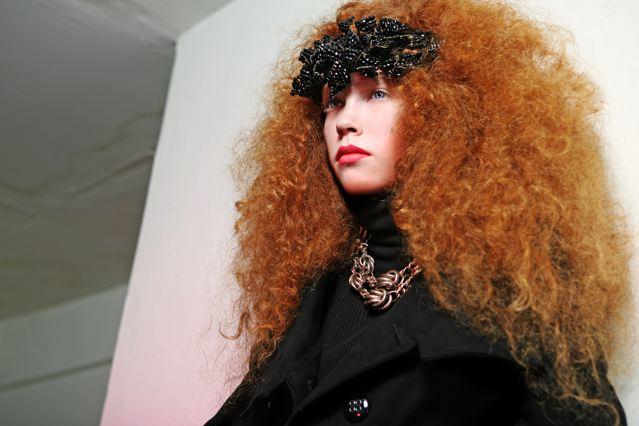 Female model photo shoot of Fady Hair