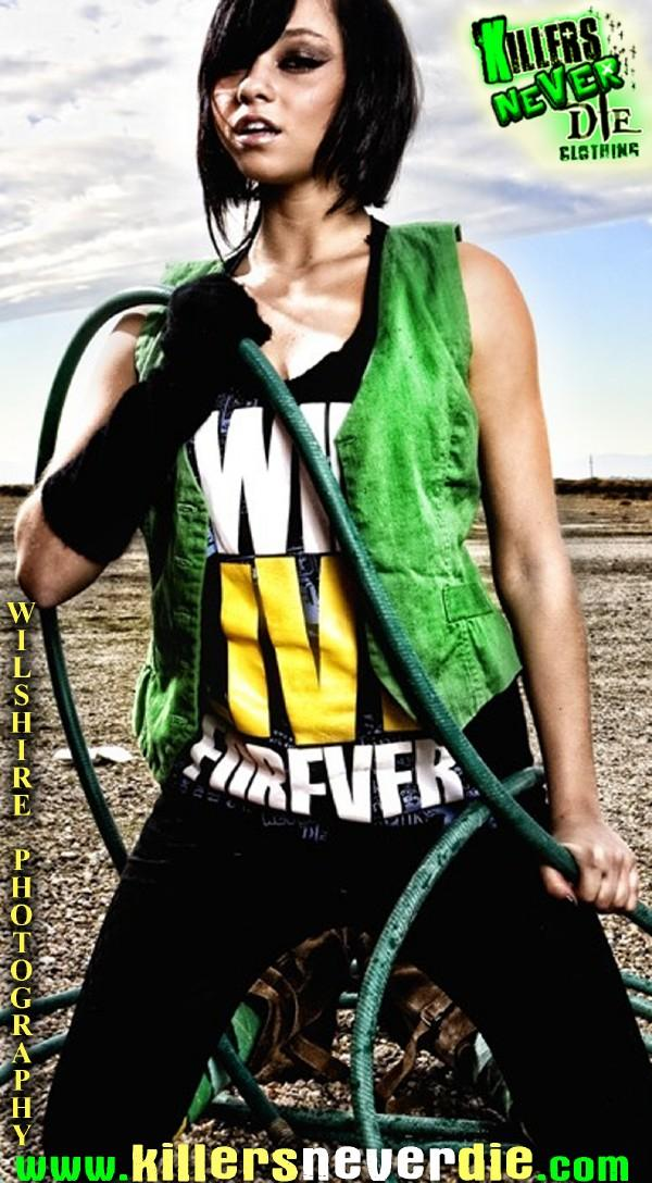 Dec 07, 2008 Killers Never Die Clothing-Wilshire Photography