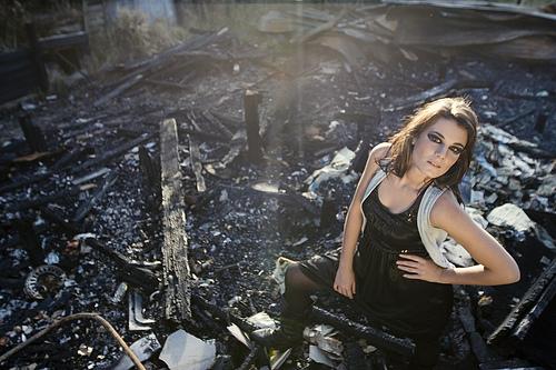 Female model photo shoot of Delwyn Rutley and utfyutevr