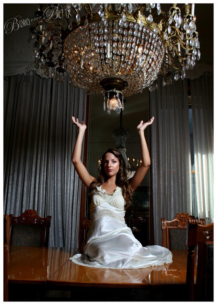 Female model photo shoot of Kara Diakoulas in 14 West