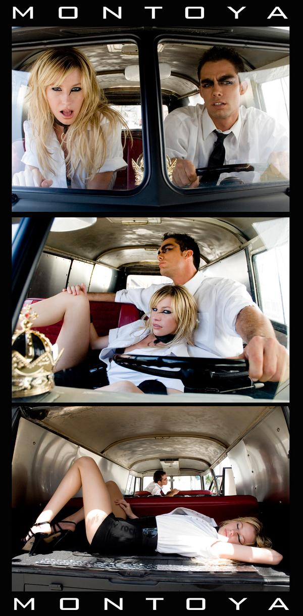 VW Van Dec 09, 2008 MONTOYA PHOTOGRAPHY Brit & Mauriceo The Getaway.... Art of Shade/ hair&mau BLUMIND