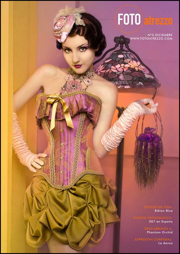 Barcelona 2008 Dec 10, 2008 Photo by Phantom Orchid Model-Iren Mirror, Stylist, MUA & Visual Concept by Bibian Blue