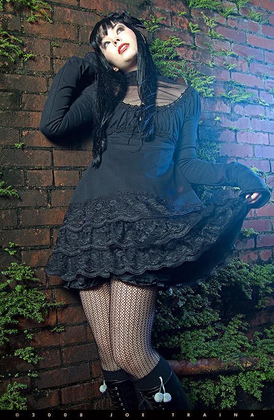 Tampa Bay Dec 11, 2008 ©2008 Sweet Depression Lace Knit Lolita
