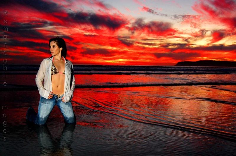 Coronado Island, CA Dec 13, 2008 Sunset Magic