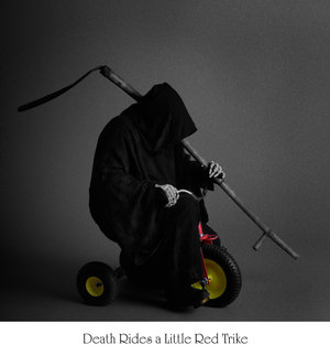 Goshen, PA Dec 13, 2008 Marcus Ranum Death Rides - A Little Red Trike. (Self Portrait)