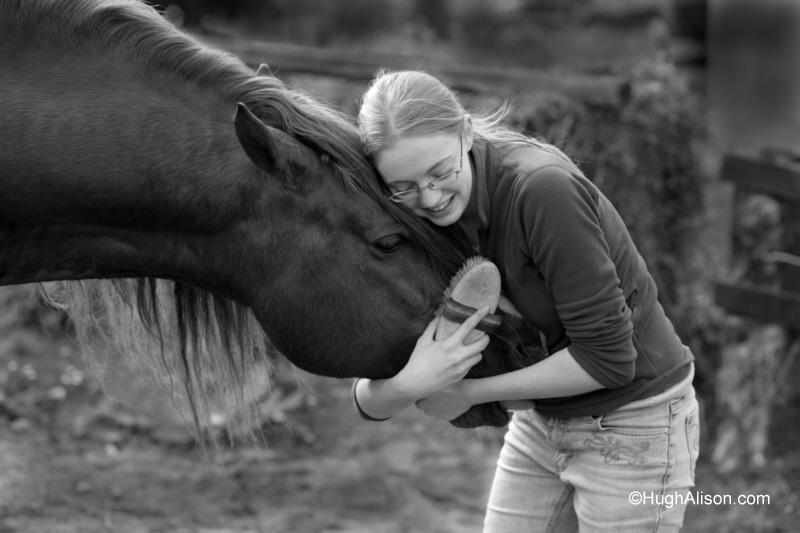 Ireland Dec 13, 2008 RH Alison Girl and stallion