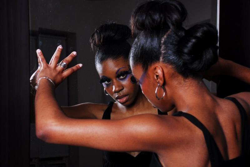 Female model photo shoot of slimone by db Photo Boston