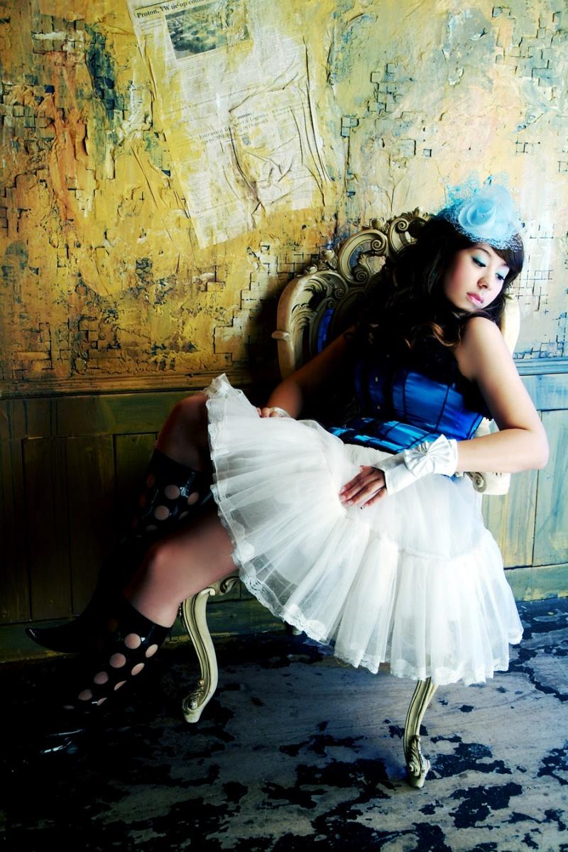 Taiwan Dec 14, 2008 White Ladder Photo Studios Blue Lolita