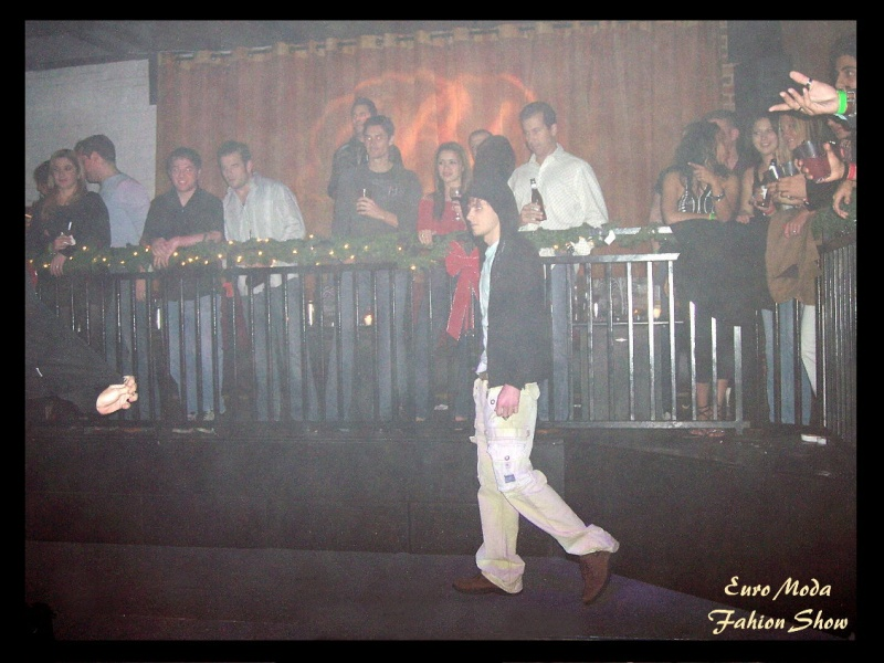Orlando, FL Dec 15, 2008 EURO MODA fashion show at BLISS