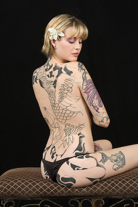 Dec 16, 2008 EandJs Photography Tattooed beauty