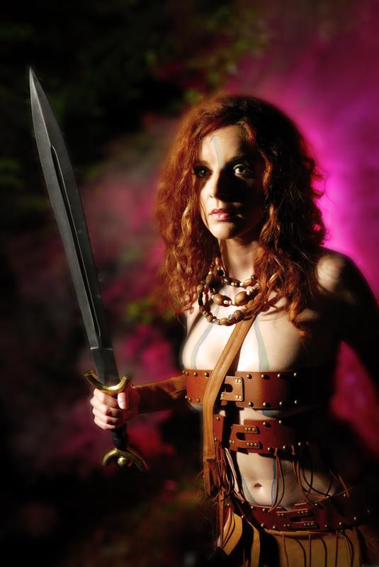 Location - Amanda Reed Dec 16, 2008 Wind and Spirit Photography Celtic Warrior