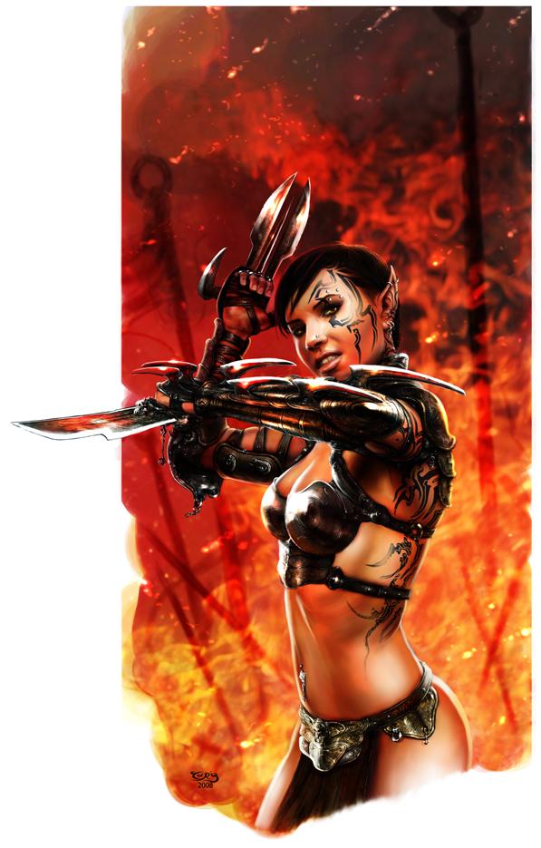 Romulus Dec 17, 2008 Tariq Raheem Maiden of War 1