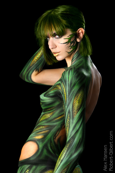Dec 17, 2008 Airbrush: Alex Hansen  Photography by Robert Gilbert WitchBlade